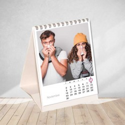 Vertical table calendar