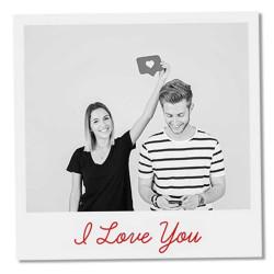 Polaroid copies with text